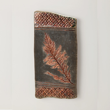 Wall hanging flora tile