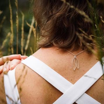 Leaf Line Pendant