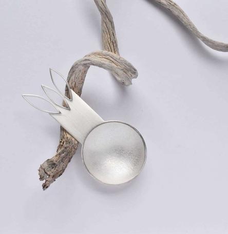 Silver Coffee Spoon