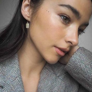 Slip Shortie Drop Earrings