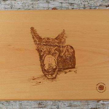Wood Platter/ M'asal Beag Dubh