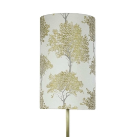 Winter Tree Tall Cylinder Lampshade