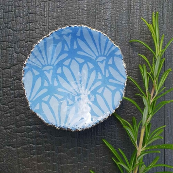 Small Patterned Lustre Dish