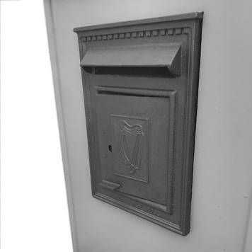 Traditional Irish Post Box