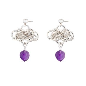 Nymph Amethyst Earrings