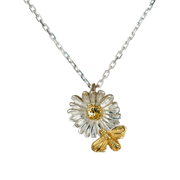 """""""Tell it to the Bees"""", 14ct gold Centre + Bee"""