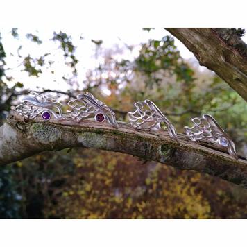 Butterfly Wing Gossamer Ring
