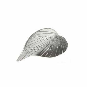 Ivy leaf tie pin - sterling silver