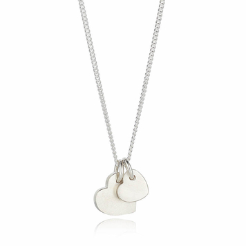 Wear your Love necklace - large and small pendants duo
