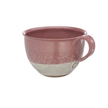 Pink Cappuccino Mug