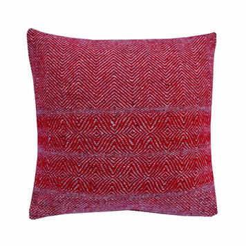 Handwoven tweed oversize Cushion