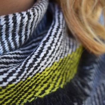 Large Silky Dark Twill Shawl Scarves