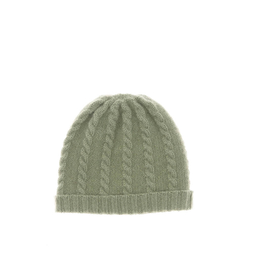 Cable Cashmere Baby Hat