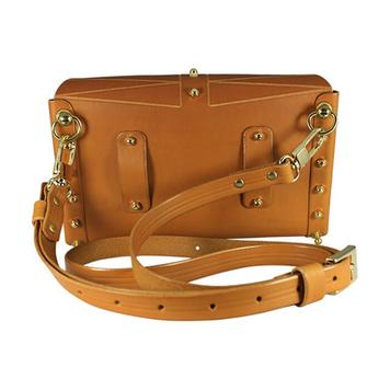 Etched Belt Bag - Mustard
