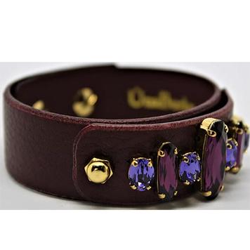 Swarovski Bracelet - Merlot