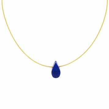 Geometrics Lapis Lazuli Tear Drop