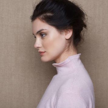 Madi Cashmere Turtleneck Sweater