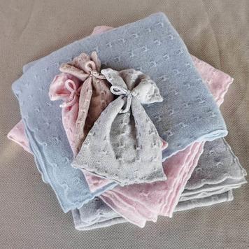 Baby Blanket & Hat Heirloom Gift Set